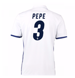 2016-17 Real Madrid Home Shirt (Pepe 3)