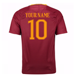 2016-17 Roma Home Shirt (Your Name)