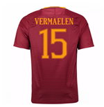 2016-17 Roma Home Shirt (Vermaelen 15)