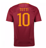 2016-17 Roma Home Shirt (Totti 10) - Kids