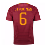 2016-17 Roma Home Shirt (Strootman 6) - Kids