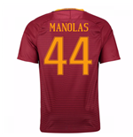 2016-17 Roma Home Shirt (Manolas 44) - Kids