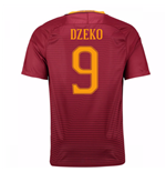 2016-17 Roma Home Shirt (Dzeko 9)