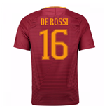 2016-17 Roma Home Shirt (De Rossi 16) - Kids