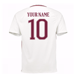 2016-17 Roma Away Shirt (Your Name)