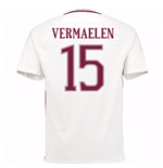 2016-17 Roma Away Shirt (Vermaelen 15)