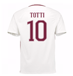 2016-17 Roma Away Shirt (Totti 10)