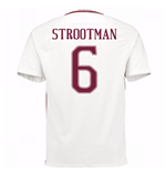 2016-17 Roma Away Shirt (Strootman 6) - Kids