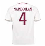 2016-17 Roma Away Shirt (Nainggolan 4)