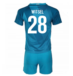 2016-17 Zenit St Petersburg Home Mini Kit (Witsel 28)