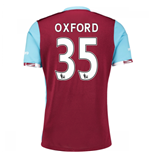 2016-17 West Ham Home Shirt (Oxford 35)