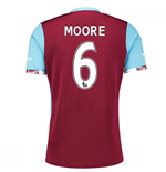 2016-17 West Ham Home Shirt (Moore 6)