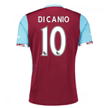 2016-17 West Ham Home Shirt (Di Canio 10)