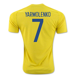 2016-17 Ukraine Home Shirt (Yarmolenko 7)