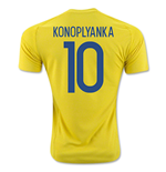 2016-17 Ukraine Home Shirt (Konoplyanka 10)