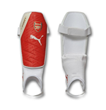 2016-2017 Arsenal Puma evoSPEED 3 Shinguards (White-Red)