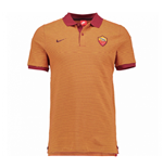 2016-2017 AS Roma Nike Authentic League Polo Shirt (Team Red)