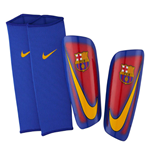 2016-2017 Barcelona Nike Mercurial Lite Shinpads (Red-Blue)