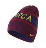 2016-2017 Barcelona Nike Reversible Beanie (Red-Blue)