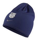 2016-2017 Barcelona Nike Training Beanie (Loyal Blue)
