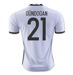2016-2017 Germany Home Shirt (Gundogan 21)