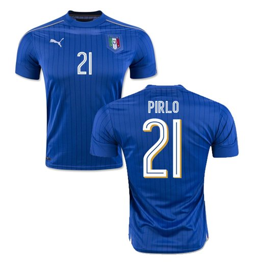 2016-2017 Italy Puma Home Shirt (Pirlo 21) - Kids