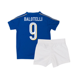 2016-2017 Italy Home Mini Kit (Balotelli 9)