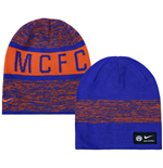 2016-2017 Man City Nike Training Beanie (Orange)