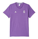 2016-2017 Real Madrid Adidas 3S Tee (Raw Purple)