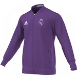 2016-2017 Real Madrid Adidas Anthem Jacket (Purple)