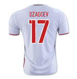 2016-2017 Russia Away Shirt (Dzagoev 17)