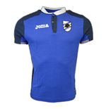 2016-2017 Sampdoria Joma Polo Shirt (Blue)