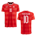 2016-2017 Switzerland Puma Home Shirt (Your Name) -Kids