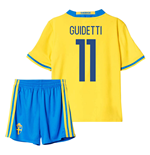 2016-2017 Sweden Home Mini Kit (Guidetti 11)
