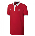 2016-2017 PSG Nike Core Polo Shirt (Red)