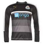 2016-2017 Newcastle Puma Sweat Top (Black) - Kids