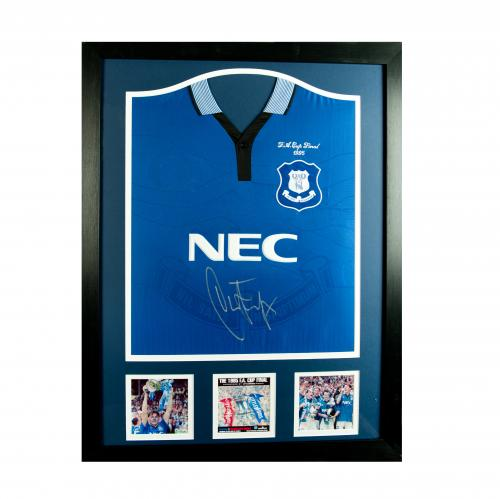 Everton F.C. Ferguson Signed Shirt (Framed)