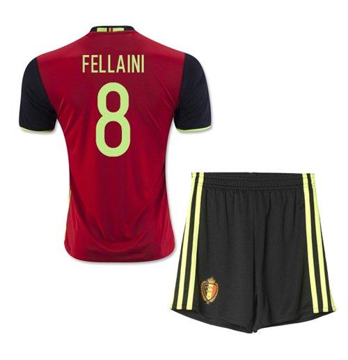 Buy Official 2016-2017 Belgium Home Mini Kit (Fellaini 8) c8be4e70c