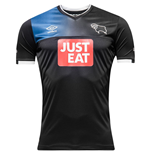 2016-2017 Derby County Away Football Shirt