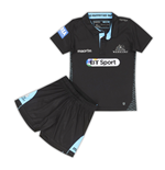 2016-2017 Glasgow Warriors Macron Home Rugby Mini Kit