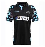 2016-2017 Glasgow Warriors Rugby Training Jersey (Black) - Kids