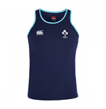 2016-2017 Ireland Rugby Training Poly Singlet (Peacot)