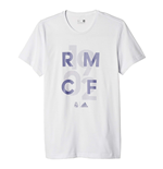 2016-2017 Real Madrid Adidas Graphic GO Tee (White)