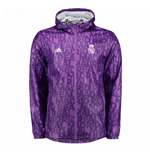2016-2017 Real Madrid Adidas Windbreaker (Purple)