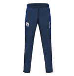 2016-2017 Scotland Macron Rugby Microfibre Travel Pants (Navy)