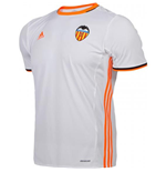 2016-2017 Valencia Adidas Home Football Shirt