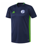2016-2017 Schalke Adidas Training Shirt (Dark Blue) - Kids