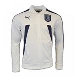 2017 Italy Puma Stadium Jacket (White)