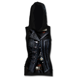 Syndicate Evie - Allover Licensed Sleeveless Gothic Hood