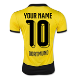 2015-16 Borussia Dortmund Home Shirt (Your Name) -Kids